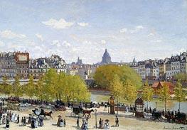 Monet   The Quai du Louvre   Giclée Canvas Print