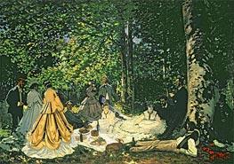 Monet | Luncheon on the Grass (Le Dejeuner sur l'Herbe) | Giclée Canvas Print