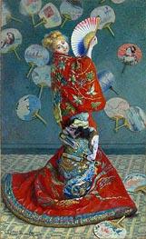 Monet   La Japonaise (Camille Monet in Japanese Costume)   Giclée Canvas Print