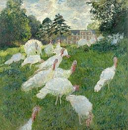 Monet   The Turkeys   Giclée Canvas Print