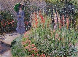 Monet   Gladioli   Giclée Canvas Print