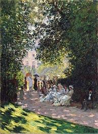 Monet   The Parc Monceau   Giclée Canvas Print