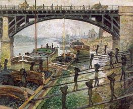 Monet | The Coal Dockers | Giclée Canvas Print
