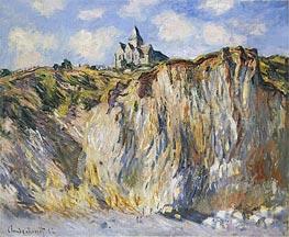 Monet | Church at Varengeville, Morning | Giclée Canvas Print