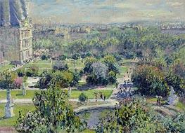 Monet | The Tuileries, 1876 | Giclée Canvas Print