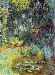 Monet | The Water Liliy Pond, 1918 | Giclée Canvas Print