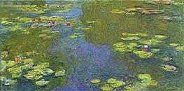 Monet | The Lily Pond, 1919 | Giclée Canvas Print