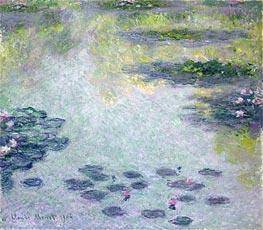 Monet | Water Lilies, 1906 | Giclée Canvas Print