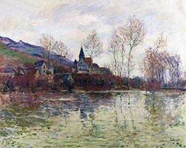 Monet | Floods at Giverny, 1886 | Giclée Canvas Print