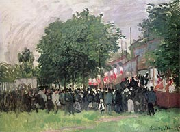 Monet | The Fourteenth of July (Bastille Day), undated | Giclée Canvas Print