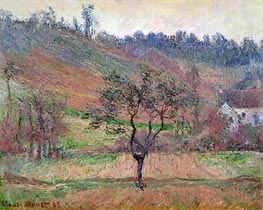 Monet | The Valley of Falaise, Calvados, France, 1883 | Giclée Canvas Print