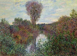 Monet | Small Branch of the Seine, 1878 | Giclée Canvas Print