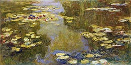 Monet | The Lily Pond, 1919 | Giclée Canvas Print