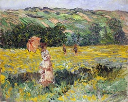 Monet | Limetz Meadow, 1887 | Giclée Canvas Print