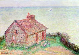 Monet | The Customs House, Pink Effect, 1897 | Giclée Canvas Print