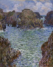 Monet | Port-Goulphar, Belle-Ile, 1887 | Giclée Canvas Print