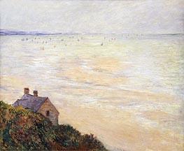 Monet | The Hut at Trouville, Low Tide, 1881 | Giclée Canvas Print