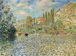 Monet | The Seine at Vetheuil, undated | Giclée Canvas Print