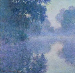 Monet | Branch of the Seine near Giverny, 1897 | Giclée Canvas Print