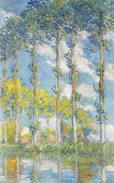 Monet | The Poplars, 1881 | Giclée Canvas Print