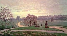 Monet | Hyde Park, Undated | Giclée Canvas Print