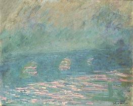 Monet | Waterloo Bridge, undated | Giclée Canvas Print