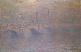 Monet | The Thames at London, Waterloo Bridge, 1903 | Giclée Canvas Print
