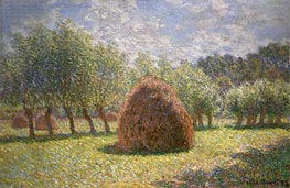 Monet | Haystacks at Giverny, 1893 | Giclée Canvas Print