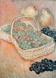 Monet | The Basket of Grapes, 1884 | Giclée Canvas Print