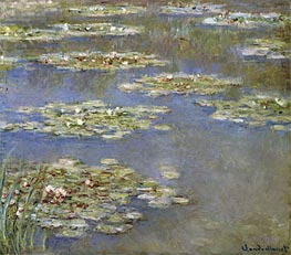 Monet | Water Lilies, c.1905 | Giclée Canvas Print