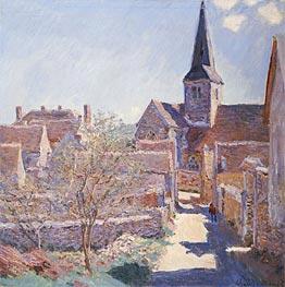 Monet | Bennecourt, 1885 | Giclée Canvas Print