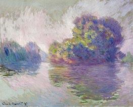 Monet | Islands at Port-Villez, 1897 | Giclée Canvas Print