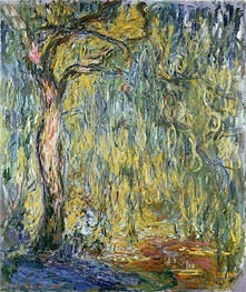 Monet | The Large Willow at Giverny, 1918 | Giclée Canvas Print