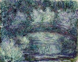 Monet | The Japanese Bridge, c.1918/19 | Giclée Canvas Print