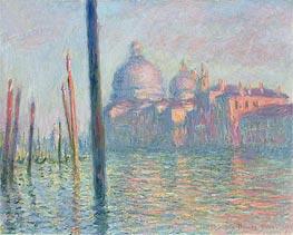 Monet | Grand Canal, Venice, 1908 | Giclée Canvas Print