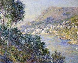 Monet | Monte Carlo, Vue de Cap Martin, 1884 | Giclée Canvas Print