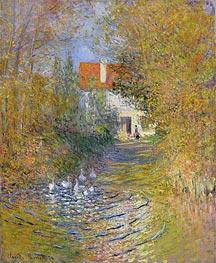 Monet | The Duck Pond, 1874 | Giclée Canvas Print