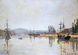 Monet | The Seine Below Rouen, undated | Giclée Canvas Print