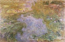 Monet | Water Lilies, 1919 | Giclée Canvas Print