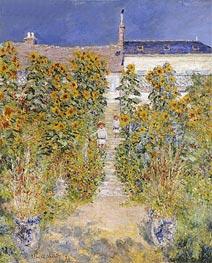 Monet | The Artist's Garden at Vetheuil, 1881 | Giclée Canvas Print