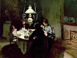 Monet | The Dinner, c.1868/69 | Giclée Canvas Print