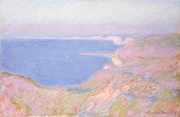 Monet | On the Cliffs near Dieppe, Sunset, 1897 | Giclée Canvas Print