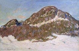 Monet | Mount Kolsaas in Sunlight, 1895 | Giclée Canvas Print