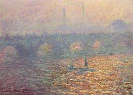 Monet | Waterloo Bridge, 1900 | Giclée Canvas Print