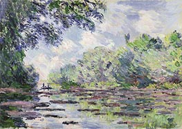 Monet | The Seine at Giverny, 1885 | Giclée Canvas Print