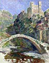 Monet   The Castle of Dolceacqua, 1884   Giclée Canvas Print