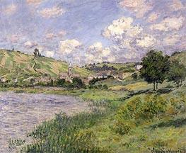 Monet   Landscape, Vetheuil, 1879   Giclée Canvas Print