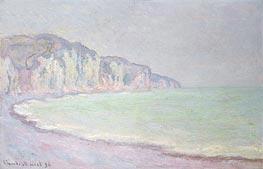 Monet   Cliffs at Pourville, 1896   Giclée Canvas Print