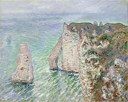 Monet   The Needle and the Porte d'Aval, Etretat, 1886   Giclée Canvas Print