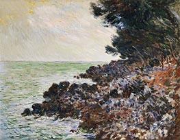 Monet   Cap Martin, undated   Giclée Canvas Print